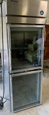 Hoshizaki Commerical Restaurant Pass-Thru Stainless Refrigerator great condition