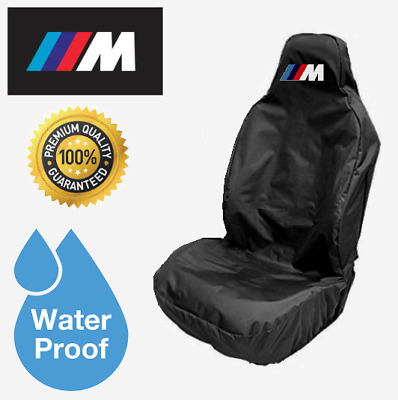 Seat Covers 2 Red Top Car Waterpoofs Nylon Seat Cover fits BMW 1,2 ...