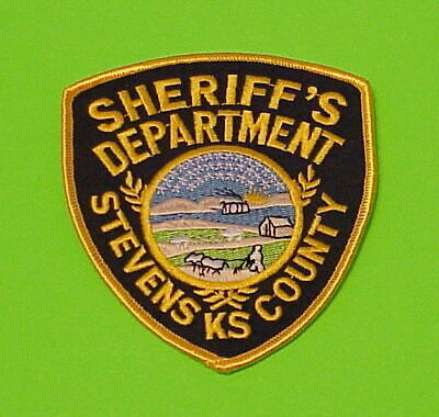DICKINSON COUNTY KANSAS KS SHERIFF POLICE PATCH