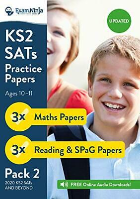 2020 KS2 SATs Practice Papers - Pack 2 English by Exam Ninja New Paperback Book