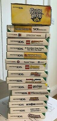 Various Nintendo DS and 3DS Games - Lego, Sonic etc