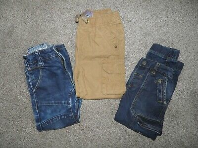 3 Pairs of Boys Jeans Next & TU Aged 4-5 Years
