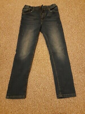 Boys dark navy River Island skinny jeans