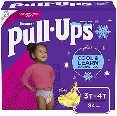 Pull Ups Cool Learn Potty Training Pants for Girls 3T 4T 32 (32-40 Pound)