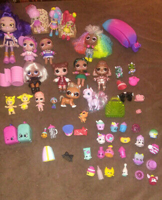 Lot Of LOL Dolls , Little  Dolls, Acces,Clothes And Pets
