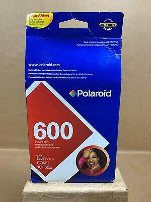 Polaroid 600 Instant Film 1 Pack Photos Expired: 2005 - New Old Stock Sealed