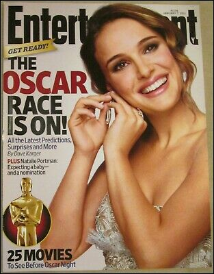 1/7/2011 Entertainment Weekly Natalie Portman The Oscar Race is On James Franco