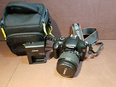 Canon EOS Rebel Canon EOS Rebel T3 Digital SLR Camera W/ Black Camera Bag