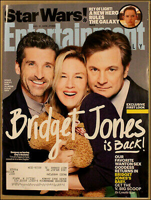 12/31/2015 Entertainment Weekly Bridget Jones's Baby Renée Zellweger Colin Firth