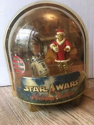 Star Wars Holiday Edition C-3PO & R2D2 2002
