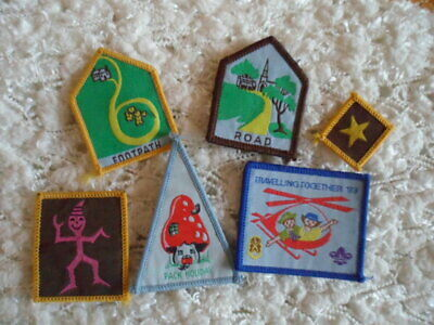 Collectable mixed, guides, Brownies Cloth patches