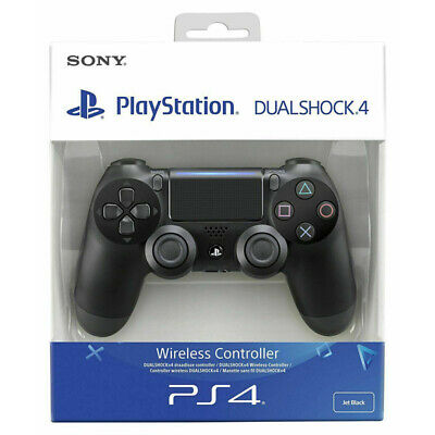 NEW SEALED (Black/Blue)& New PS4 DualShock 4 Controller Wave Blue V2 BRAND