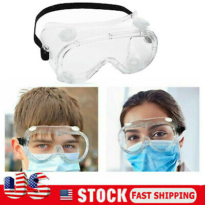 Safety Lab Glasses Protective Anti-Flu Dust Goggles Chemical Industrial Eyewear