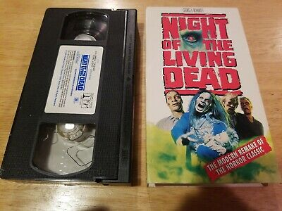 Night Of The Living Dead (1990) VHS Horror Classic Tape George Romero