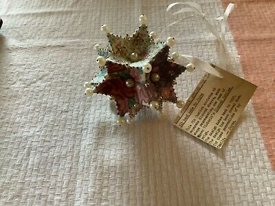 "Vintage Handmade ""Queen Victoria Jubilee"" Pin Cushion"