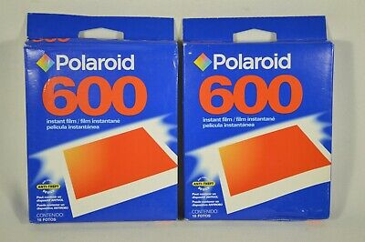 LOT of 2 Expired Polaroid 600 Instant Film 20 Exposures NEW Sealed 06/05 AS IS