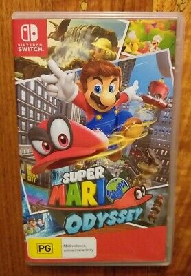 Nintendo Switch Super Mario Odyssey Video Game