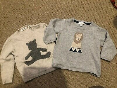 Country Road Pure Baby Jumpers 6-12 Months Size 0