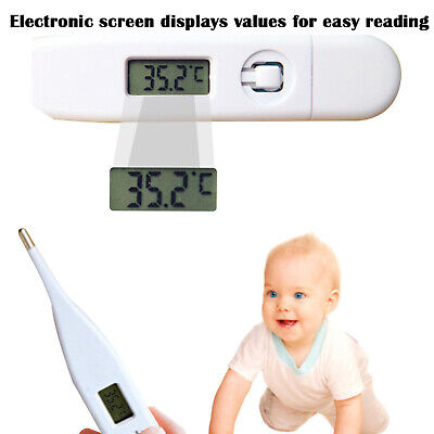 Portable Digital LCD Thermometer Baby Adult Kids Safe Body Ear Mouth Temperature