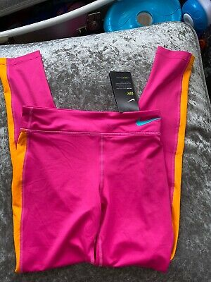 Nike Girls Dri Fit Nike Leggings Tight Fit 12-13 Years Bnwt