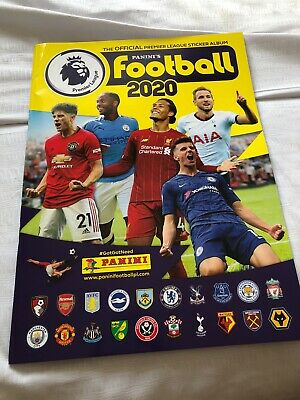Panini's Football 2020/ Premier League Sticker Book/ THE YEAR THE LEAGUE ENDED