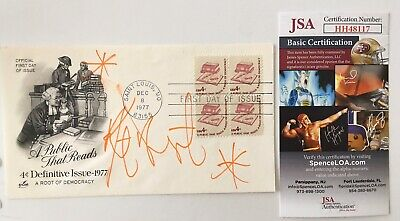 Kurt Vonnegut Signed Autographed First Day Cover JSA Certified Author