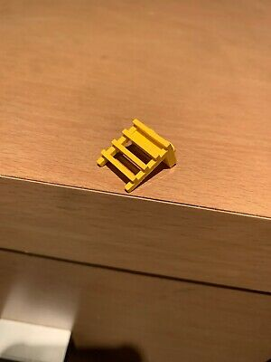 Vintage Lego Yellow 1x2 Plate With Ladder Grille Part Lot Town Space Part 4175
