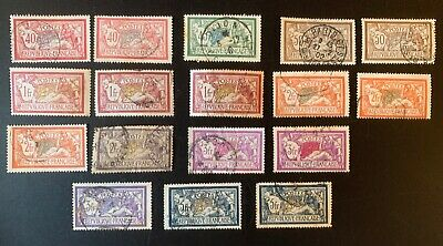 lot timbres france obliteres Type Merson Dont Les No 240, 123, 122,....