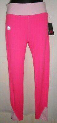 New RBX ACTIVE Girl's pink long LEGGINGS SIZE L 14-16yr RRP $40