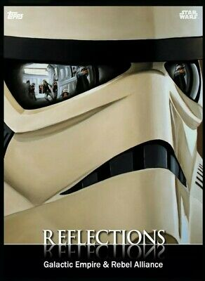 Topps Star Wars Card Trader Stormtrooper Empire & Rebel Alliance Reflections