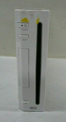 Nintendo Wii Gaming System Console Only White Working (BS)