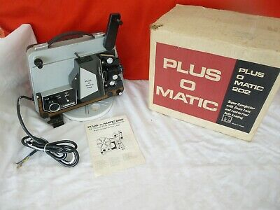 old projector plus o matic 202 no 7 fozi56 tokyo working