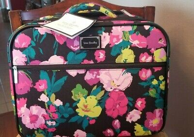 Vera Bradley Rolling Work Bag Luggage Hilo Meadow New NWT MSRP $265 Carry On