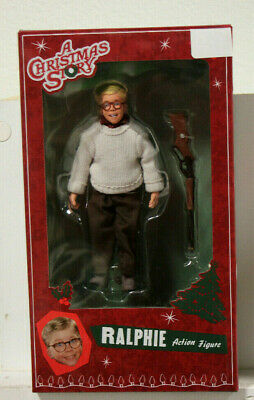 """A Christmas Story Ralphie 8"""" Action Figure NECA Reel Toys  BRAND NEW"""