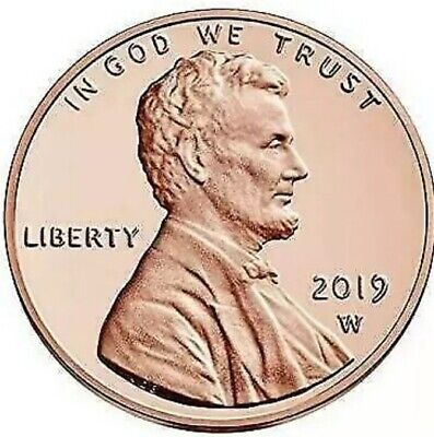 2019 P Lincoln Shield Penny Cent #9664 Fill Your Coin Book A BU Coin