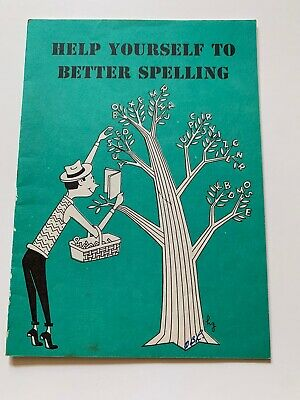 Vintage1958 Help Yourself to Better Spelling Booklet