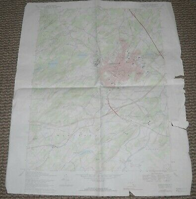 Middletown, New York USGS Topographic Map 1976 7.5 Minute Series