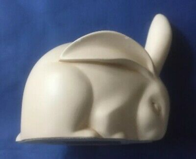 1920's Art Deco Style Edouard Sandoz Rabbit Pottery Ornament By Sue Dawes