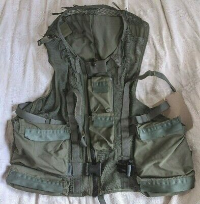 Canadian Force Helicopter Survival Vest Size LARGE Canada Army Military 44-48