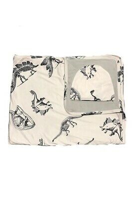 Dinosaur Print Swaddle And Hat
