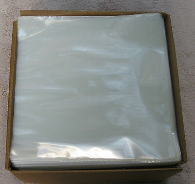 "New  100 Clear 3MIL Poly Outer Sleeves Fit Double/Triple 12"" LP Record"