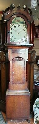 Antique Grandfather Clock, W Ness of Kirbymoorside - Delivery Arranged