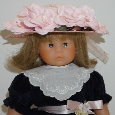 "1989 Pre-Mattel 16.8"" COROLLE GIRL DOLL ~w/Corolle Outfit~ Blonde Hair~ Signed"