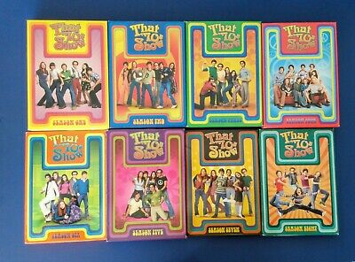 That 70'S Show Complete Series Dvds  * Seasons 1, 2, 3, 4, 5, 6 7, & 8 * Vgc