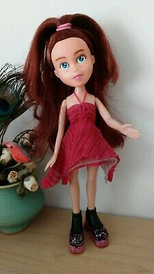 Repainted rescued Bratz Doll red hair