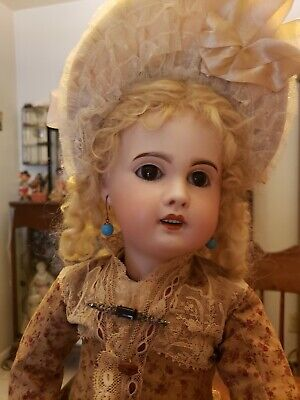 Antique French Doll By Sfbj