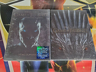 Game of Thrones Seasons 7 and 8 DVD Bundle Brand New USA! Free Shipping!