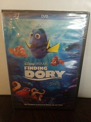 Disney Pixar Finding Dory (DVD, 2016) New Sealed. Free Shipping Included!!