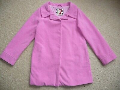 Cotton On Girls Gorgeous Pink Jacket / Coat - Size 7 - Great For Winter!