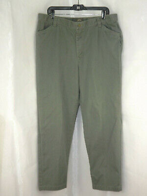Riders Casuals Women's size 18M Sage Color Pants Ships Free